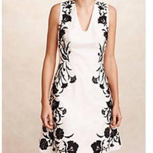 NWT Moulinette Soeurs Black Bell Flower Dress 14